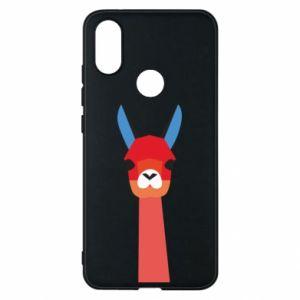 Etui na Xiaomi Mi A2 Pink alpaca