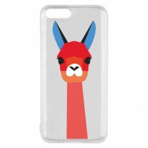 Etui na Xiaomi Mi6 Pink alpaca