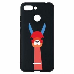 Etui na Xiaomi Redmi 6 Pink alpaca