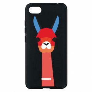 Etui na Xiaomi Redmi 6A Pink alpaca