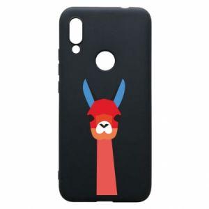 Etui na Xiaomi Redmi 7 Pink alpaca