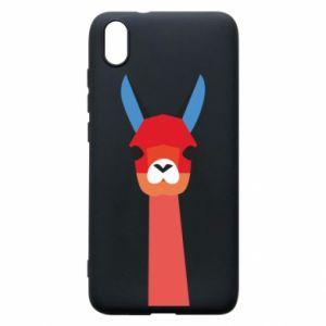 Etui na Xiaomi Redmi 7A Pink alpaca