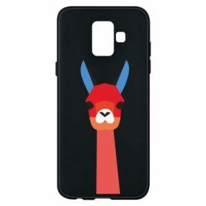 Etui na Samsung A6 2018 Pink alpaca