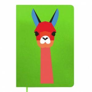 Notes Pink alpaca