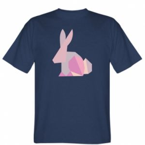 T-shirt Pink Bunny Abstraction