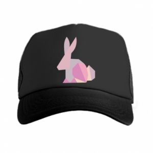 Czapka trucker Pink Bunny Abstraction