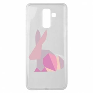 Etui na Samsung J8 2018 Pink Bunny Abstraction