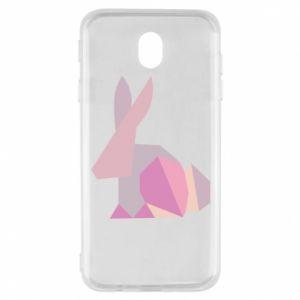 Etui na Samsung J7 2017 Pink Bunny Abstraction