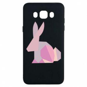 Etui na Samsung J7 2016 Pink Bunny Abstraction