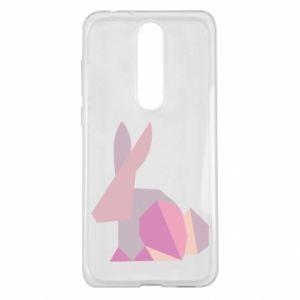 Etui na Nokia 5.1 Plus Pink Bunny Abstraction
