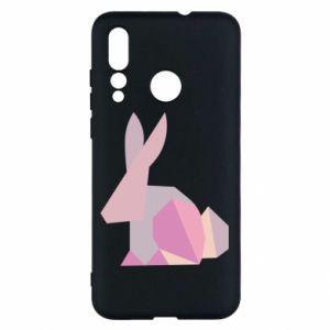 Etui na Huawei Nova 4 Pink Bunny Abstraction