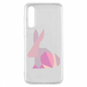 Etui na Huawei P20 Pro Pink Bunny Abstraction