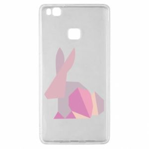 Etui na Huawei P9 Lite Pink Bunny Abstraction