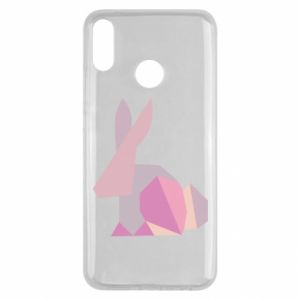 Etui na Huawei Y9 2019 Pink Bunny Abstraction