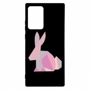 Etui na Samsung Note 20 Ultra Pink Bunny Abstraction