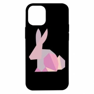 Etui na iPhone 12 Mini Pink Bunny Abstraction
