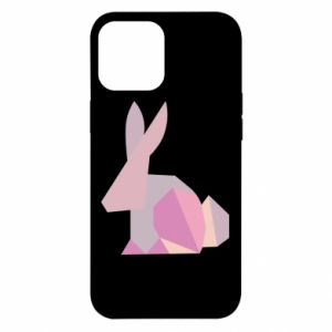 Etui na iPhone 12 Pro Max Pink Bunny Abstraction