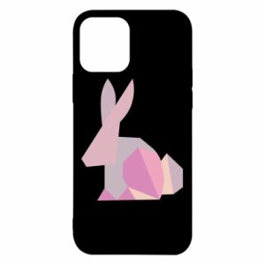 Etui na iPhone 12/12 Pro Pink Bunny Abstraction