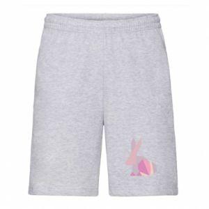 Męskie szorty Pink Bunny Abstraction
