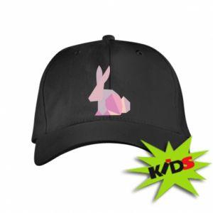 Dziecięca czapeczka z daszkiem Pink Bunny Abstraction