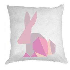Poduszka Pink Bunny Abstraction