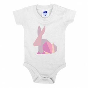 Body dla dzieci Pink Bunny Abstraction