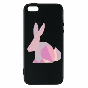 Etui na iPhone 5/5S/SE Pink Bunny Abstraction