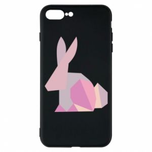 Etui na iPhone 7 Plus Pink Bunny Abstraction
