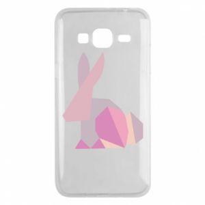 Etui na Samsung J3 2016 Pink Bunny Abstraction