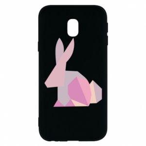 Etui na Samsung J3 2017 Pink Bunny Abstraction