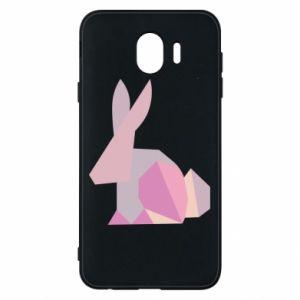 Etui na Samsung J4 Pink Bunny Abstraction