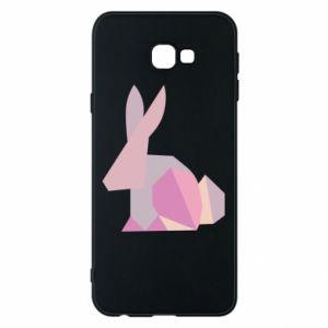 Etui na Samsung J4 Plus 2018 Pink Bunny Abstraction