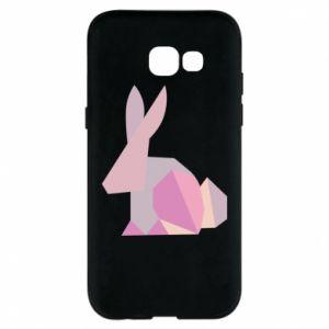 Etui na Samsung A5 2017 Pink Bunny Abstraction