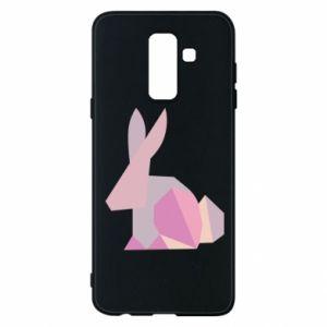Etui na Samsung A6+ 2018 Pink Bunny Abstraction