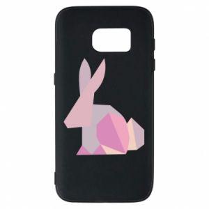 Etui na Samsung S7 Pink Bunny Abstraction