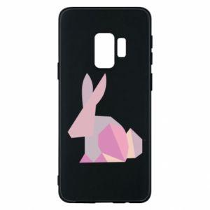 Etui na Samsung S9 Pink Bunny Abstraction