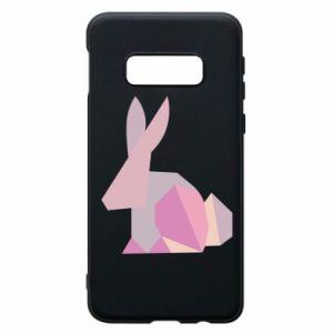Etui na Samsung S10e Pink Bunny Abstraction
