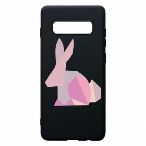 Etui na Samsung S10+ Pink Bunny Abstraction