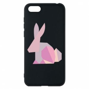 Etui na Huawei Y5 2018 Pink Bunny Abstraction