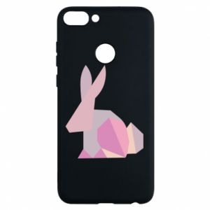 Etui na Huawei P Smart Pink Bunny Abstraction