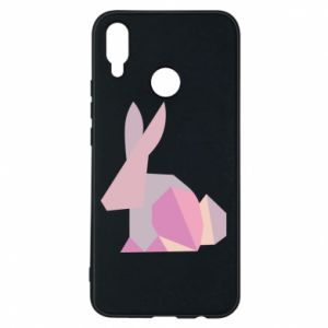Etui na Huawei P Smart Plus Pink Bunny Abstraction