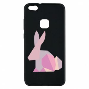 Etui na Huawei P10 Lite Pink Bunny Abstraction