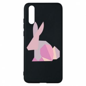 Etui na Huawei P20 Pink Bunny Abstraction