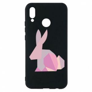 Etui na Huawei P20 Lite Pink Bunny Abstraction