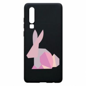 Etui na Huawei P30 Pink Bunny Abstraction