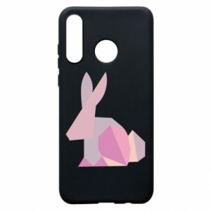Etui na Huawei P30 Lite Pink Bunny Abstraction