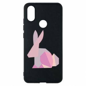 Etui na Xiaomi Mi A2 Pink Bunny Abstraction