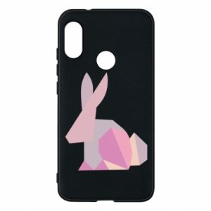 Etui na Mi A2 Lite Pink Bunny Abstraction