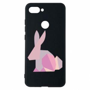 Etui na Xiaomi Mi8 Lite Pink Bunny Abstraction