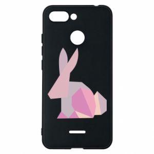 Etui na Xiaomi Redmi 6 Pink Bunny Abstraction